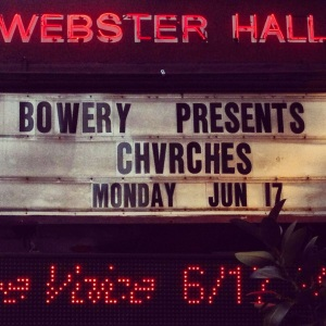 Chvrches Marquee