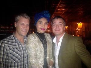 Brian, Yuna, Nick
